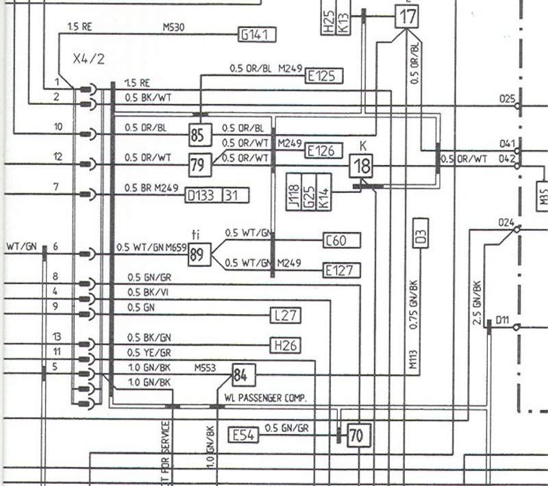 porsche 911 wiring connector