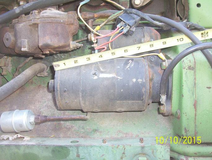 3020 GAS starter - Yesterday\u0027s Tractors