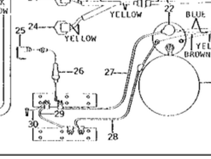 68 3020 diesel starter circuit