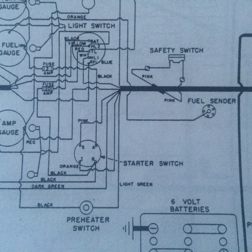 oliver 880 tractor wiring diagram