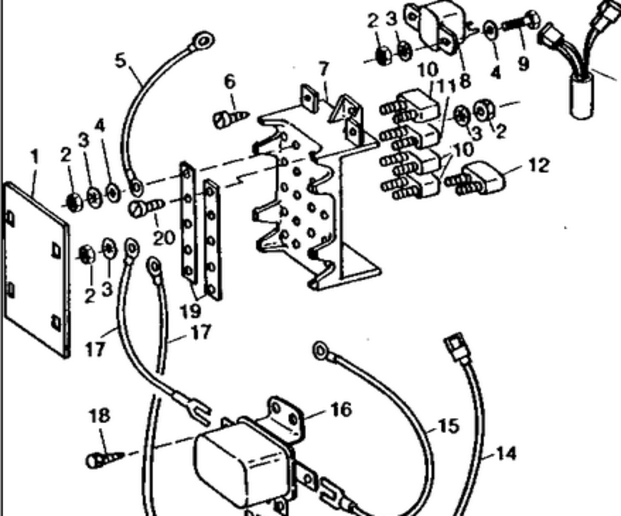 wiring diagram for 4210 john deere