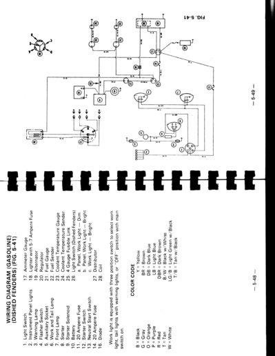 Massey Ferguson 30B tractor wiring - Yesterday\u0027s Tractors