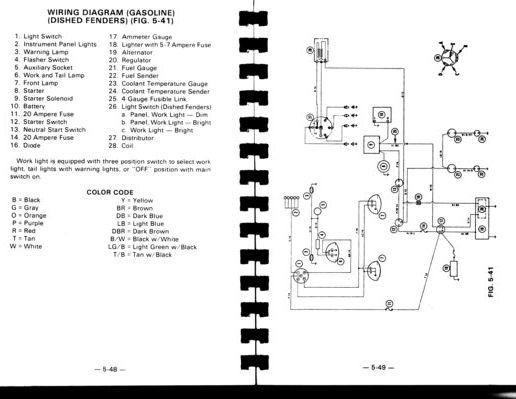 ferguson tractor wiring diagram picture