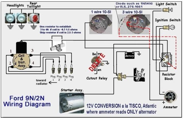 8n Tractor Wiring Diagram Wiring Diagram