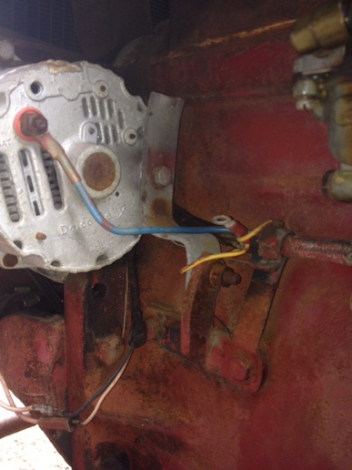 Wiring on a Farmall 140 12v Conver - Yesterday\u0027s Tractors