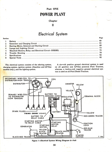 Wiring for Ford 850 help not sure - Yesterday\u0027s Tractors