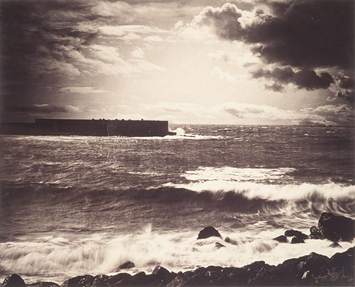 Gustave Le Gray, The Great Wave, Sete (1857)