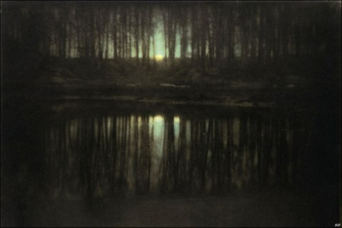 Edward Steichen, The Pond-Moonlight (1904)