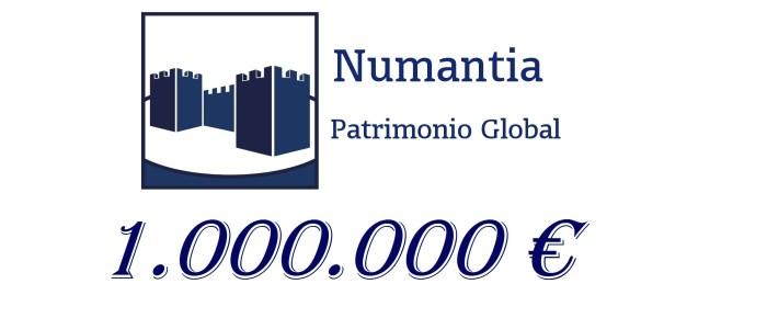 Numantia Patrimonio alcanza el primer millón bajo gestión.