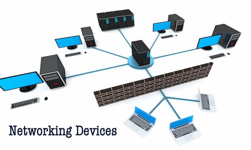 Different Networking Devices And Hardware Types \u2014 Hub, Switch