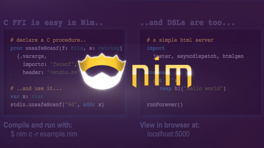 Nim \u2014 A Programming Language That Combines Best Of Python, Go, And Rust