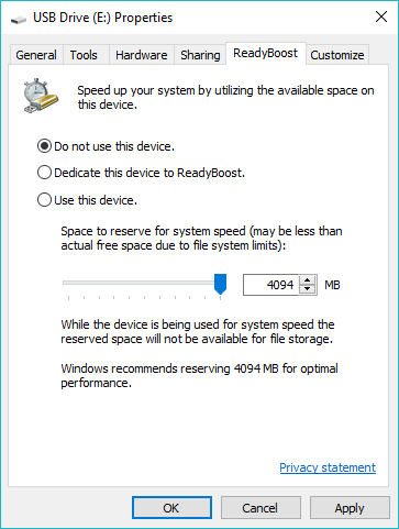 How To Speed Up Windows Using ReadyBoost And USB Drive? Does It Still Work?
