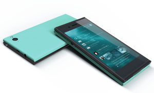 Jolla phone running Sailfish