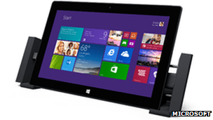 Surface Pro 2 with optional docking station