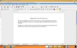 Rollapp - LibreOffice Writer