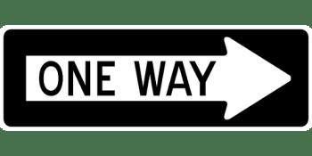 Microsoft's one way street