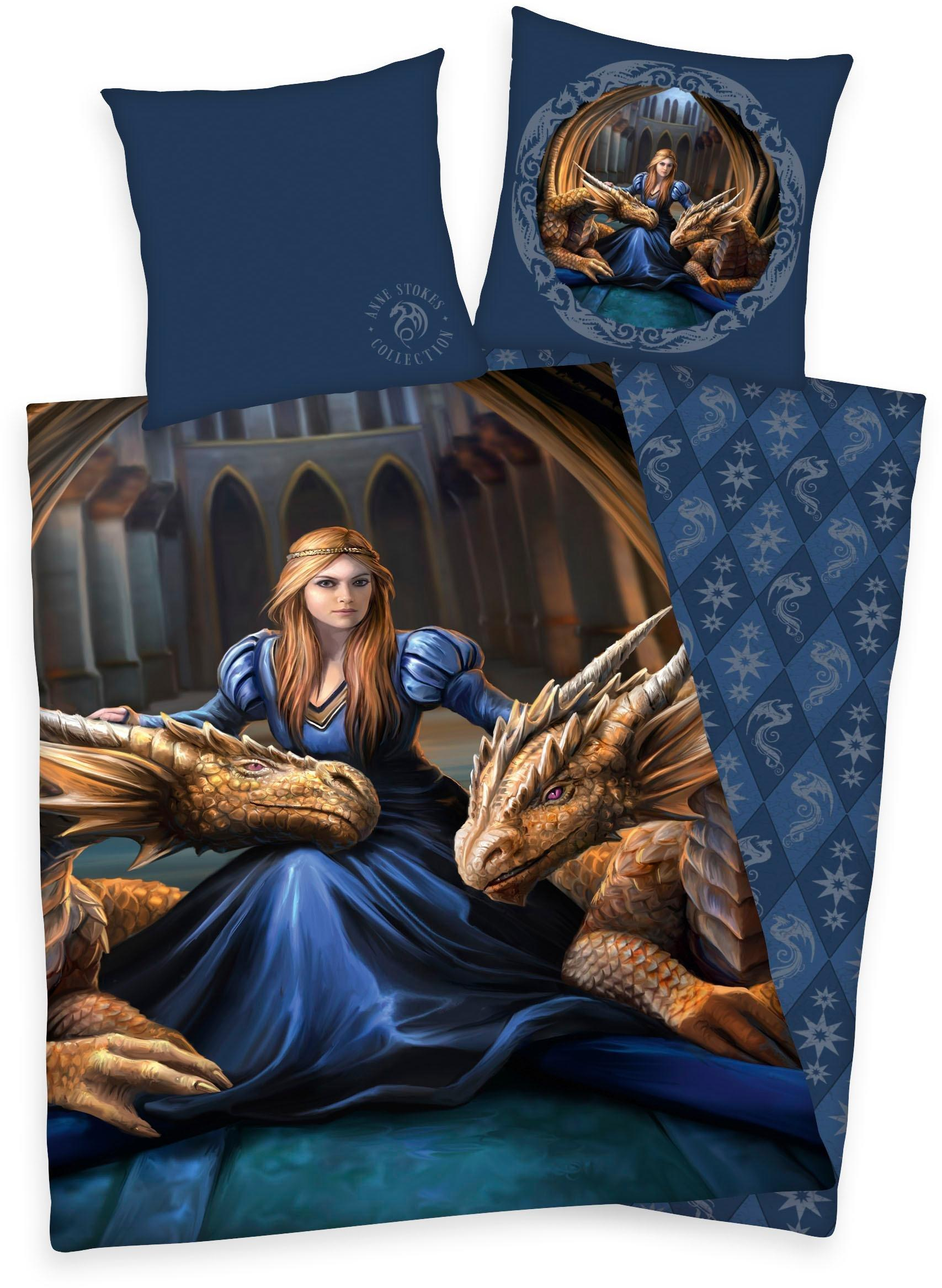 Fosshop Fantasy Bettwäsche Loyalty Anne Stokes