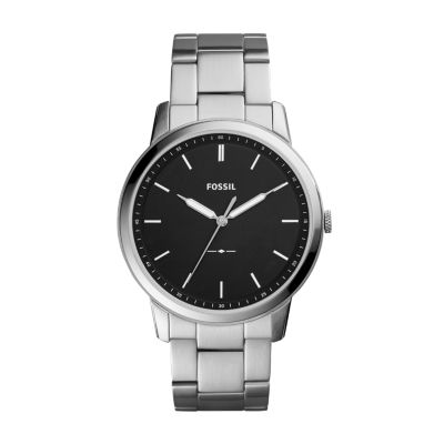 Steel Watch The Minimalist Slim Three Hand Stainless Steel Watch