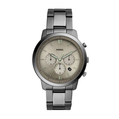 Steel Watch Neutra Chronograph Smoke Stainless Steel Watch