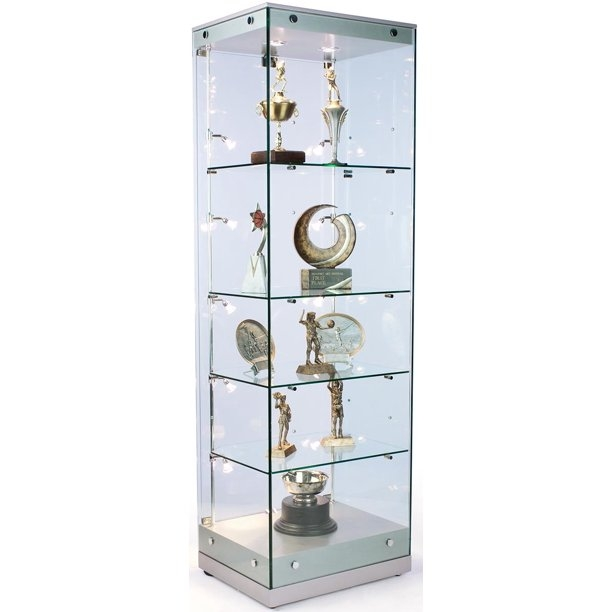 Curio Cabinet Ikea Elegant Display Cabinet Amusing Glass Door Glass Curio Cabinets - Foter