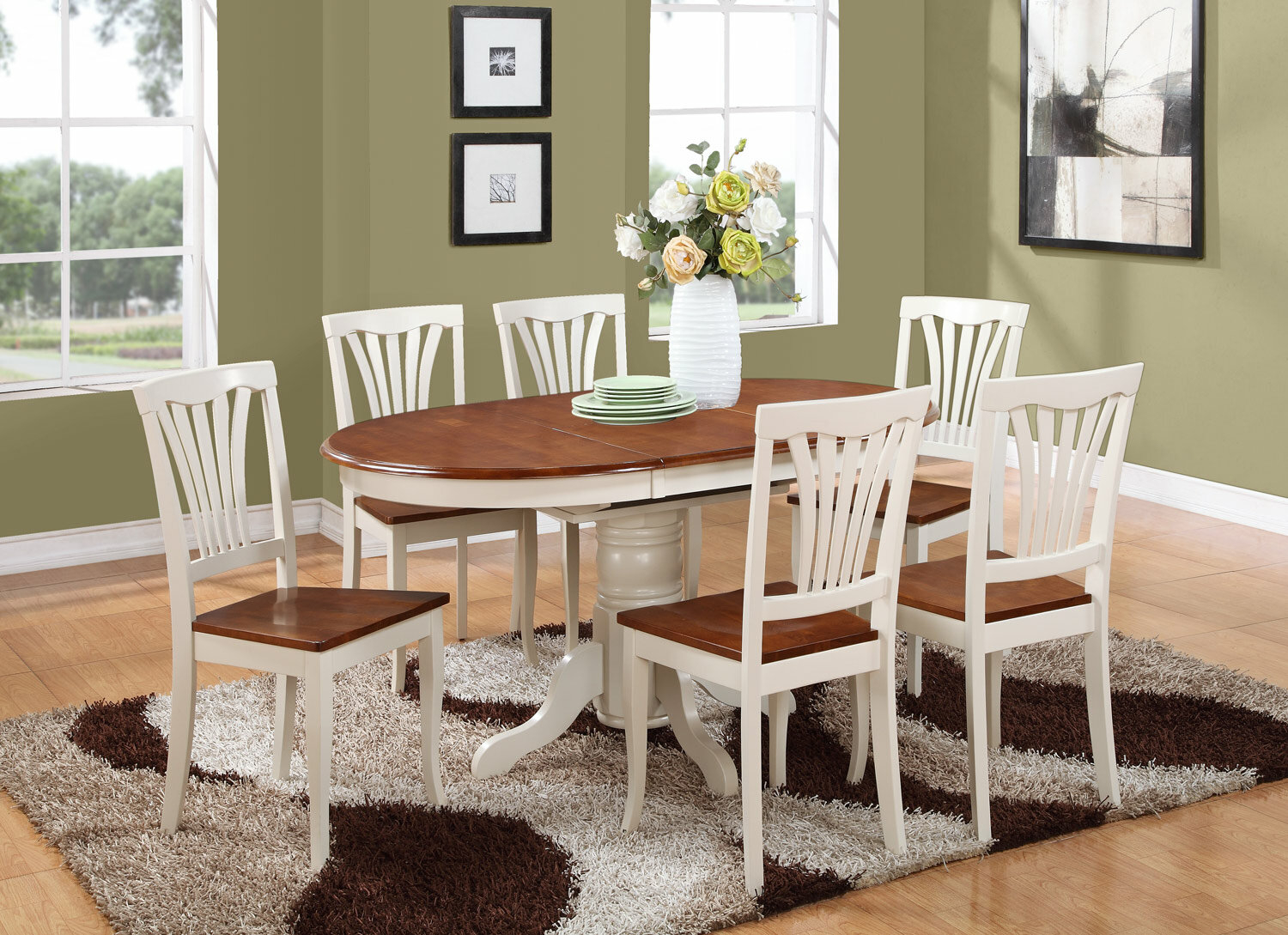 Oval Dining Table Set For 6 Foter