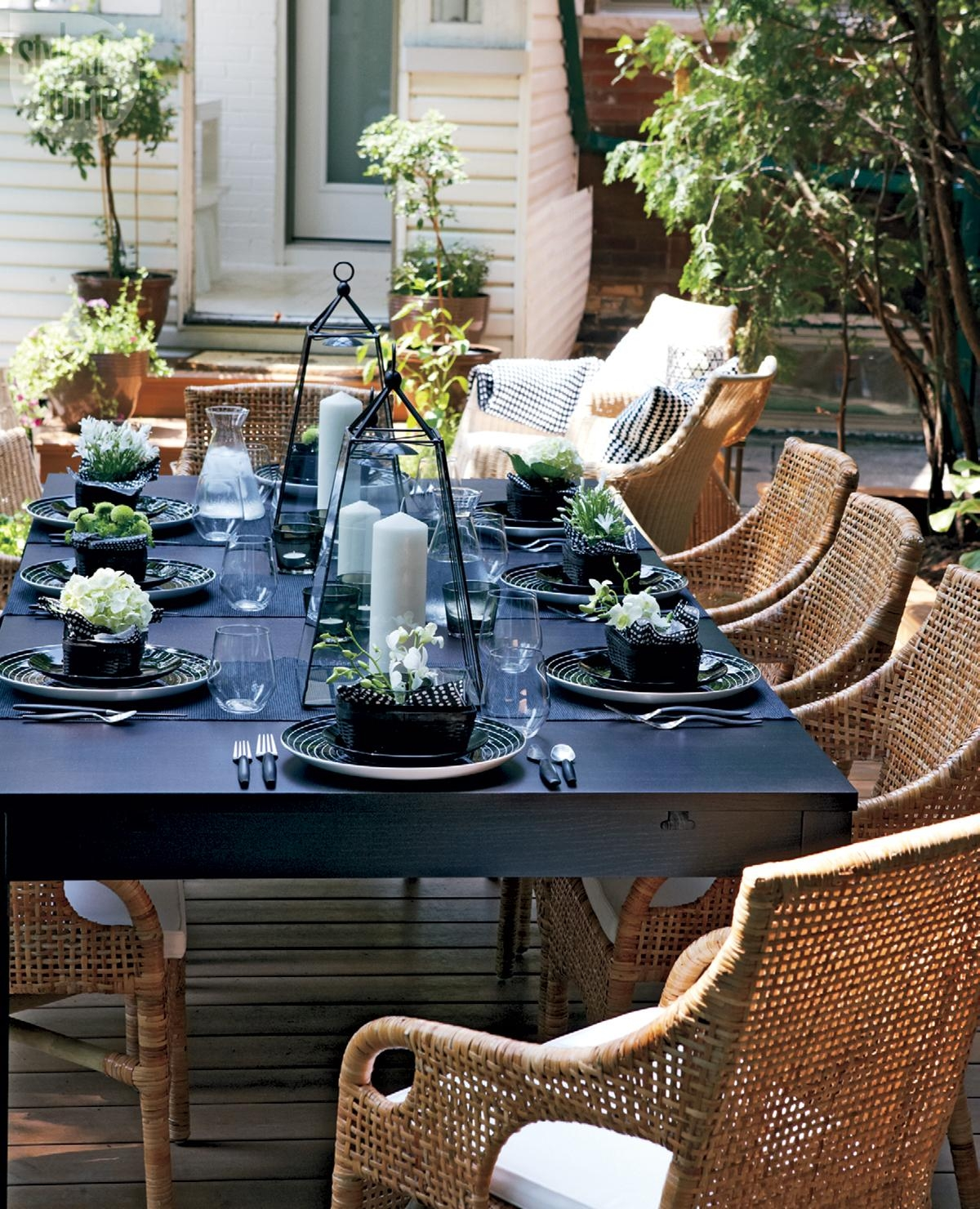 Black Wicker Dining Chair Ideas On Foter