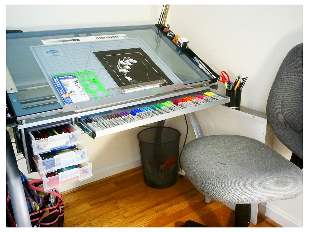 Glass Drafting Tables Foter
