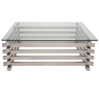 Stainless Steel Coffee Tables - Foter
