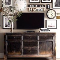 Flat Screen Tv Console Tables - Foter