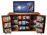 Cd Storage Cabinet With Doors - Foter