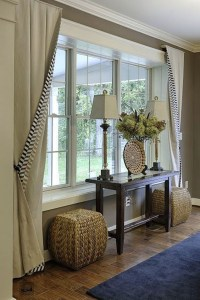 Picture Window Curtains And Window Treatments - Foter