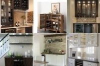 Living Room Bar Cabinet - Foter