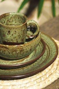 Rustic Stoneware Dinnerware - Foter