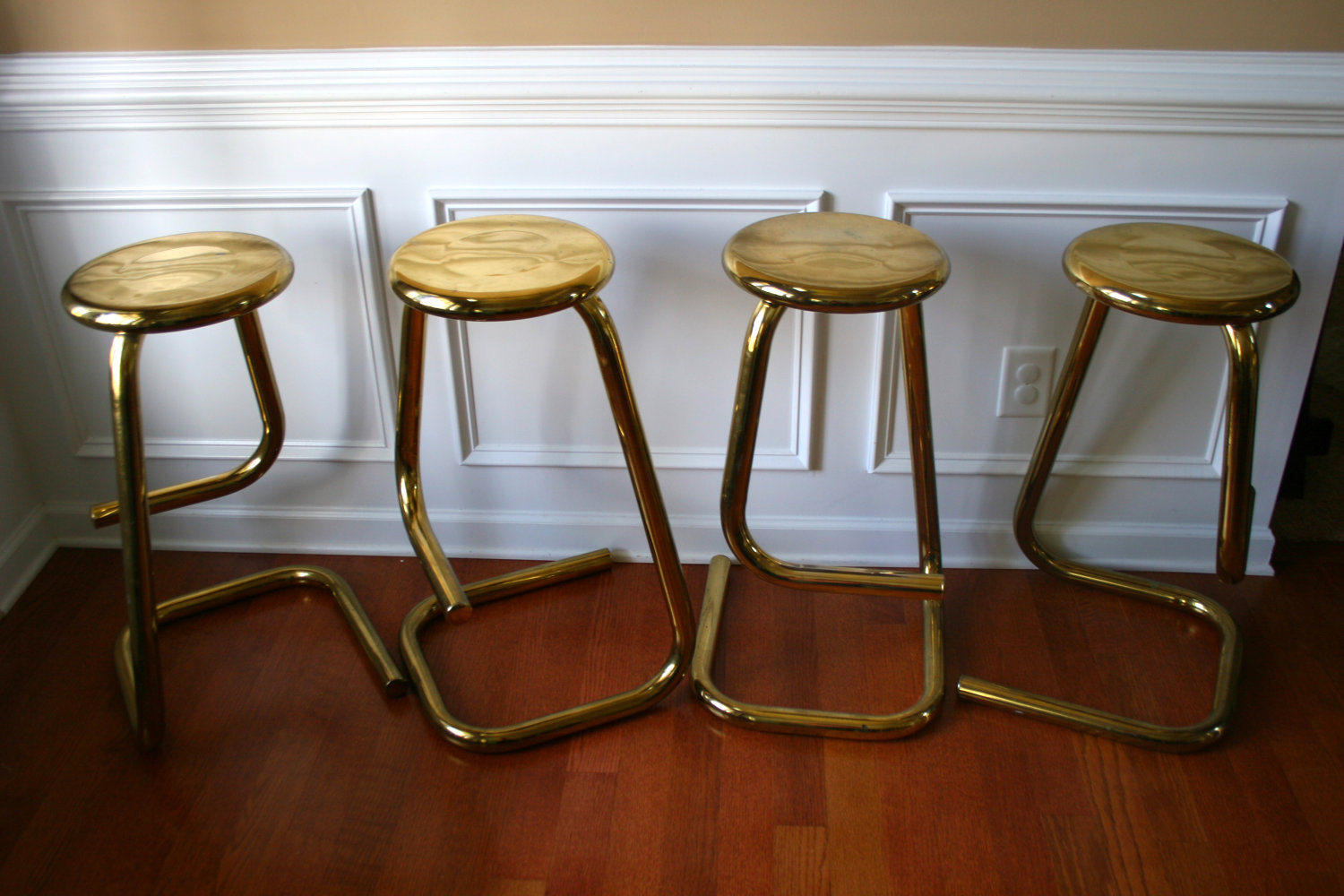 Brass Modern Bar Stool Foter