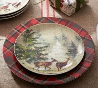 Set Of 4 Decorative Plates