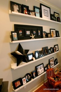 Decorative Ledge Shelves