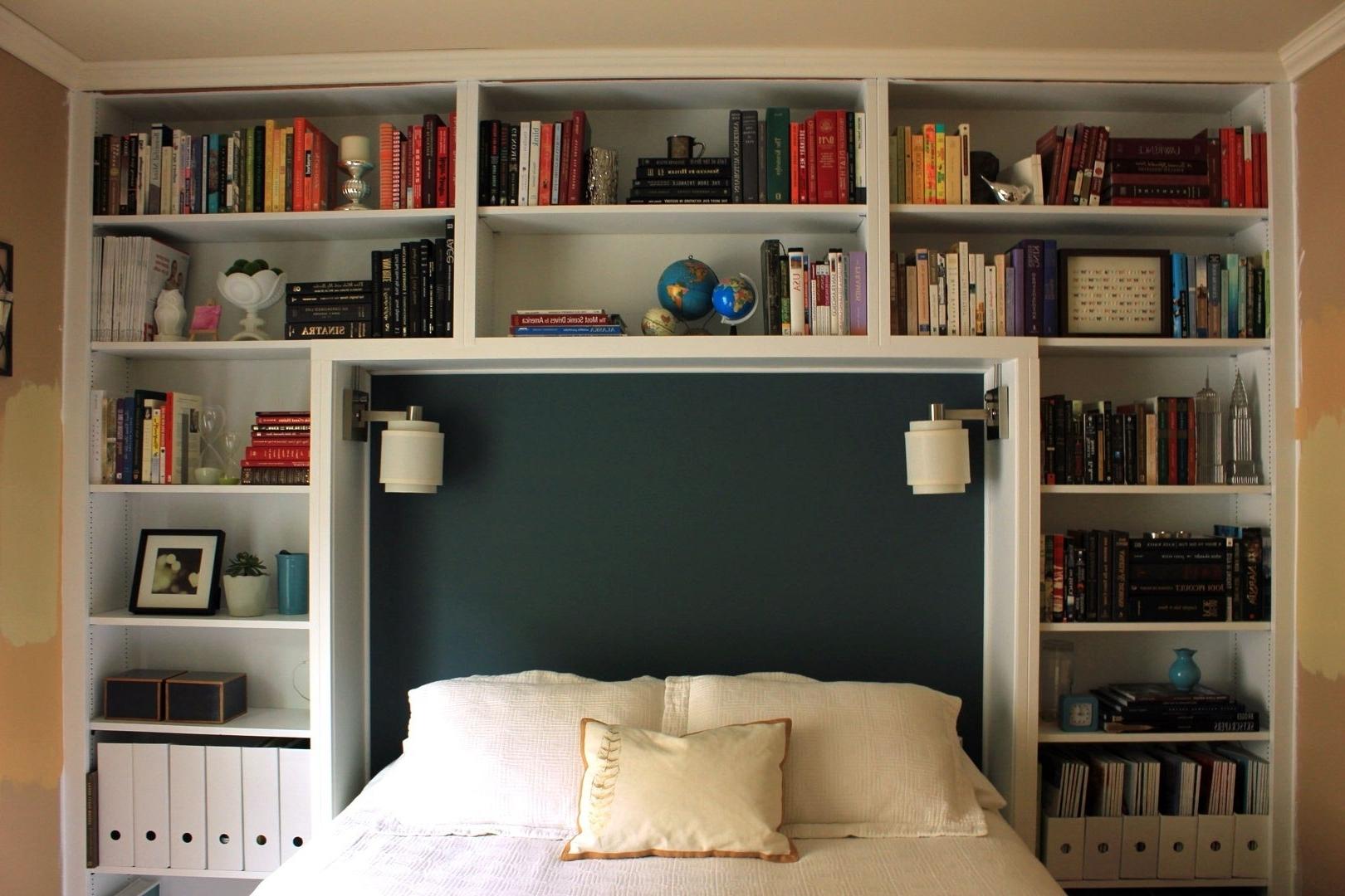 King Size Bookshelf Headboard Foter