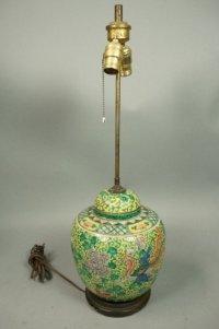 Porcelain Ginger Jar Table Lamp - Foter