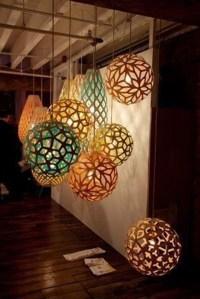 Paper Pendant Lamp - Foter