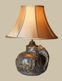 African Table Lamp - Foter
