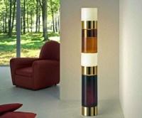 Glass Cylinder Floor Lamp - Foter
