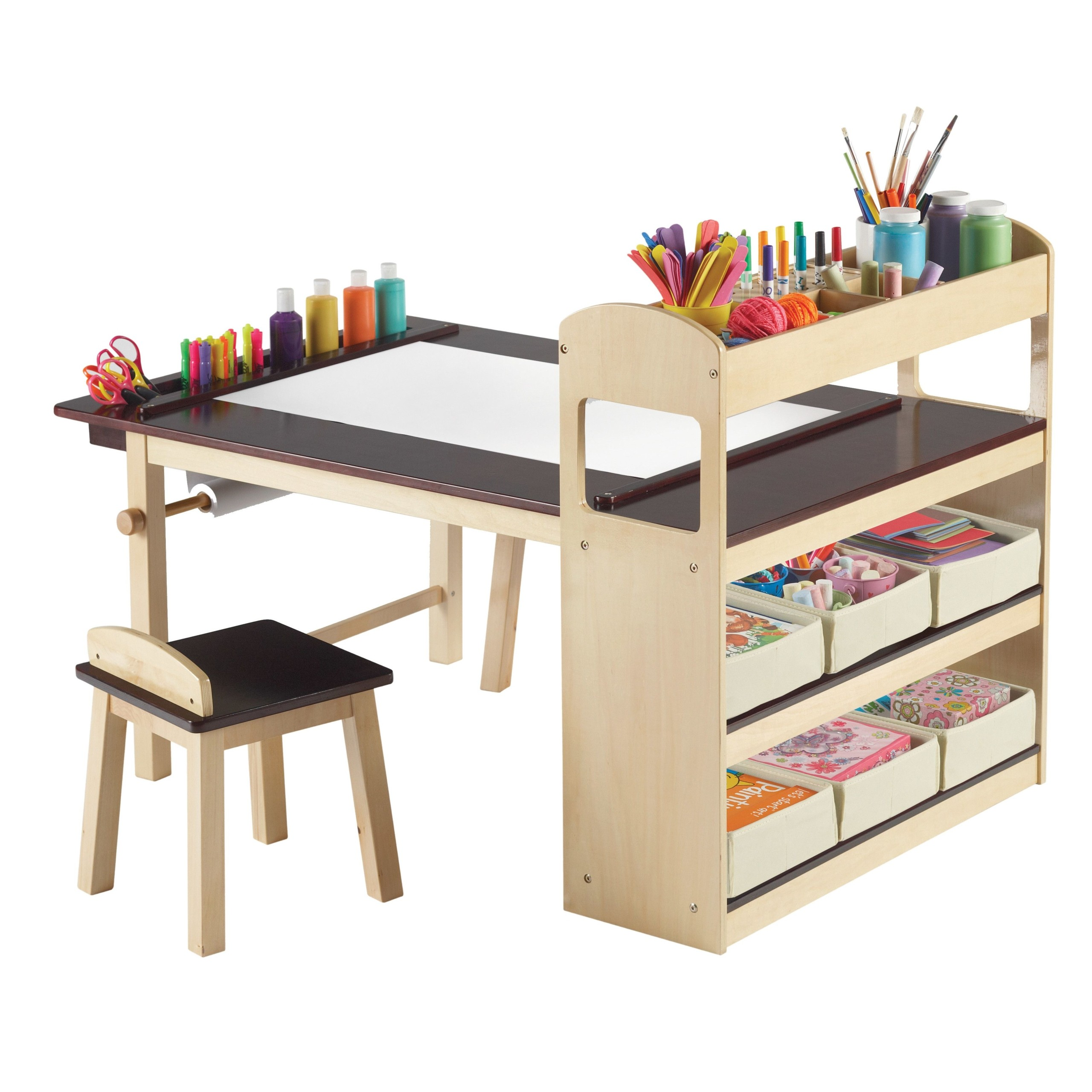 Kids Art Table With Storage Ideas On Foter