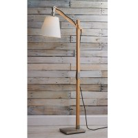 Wood Base Floor Lamp - Foter