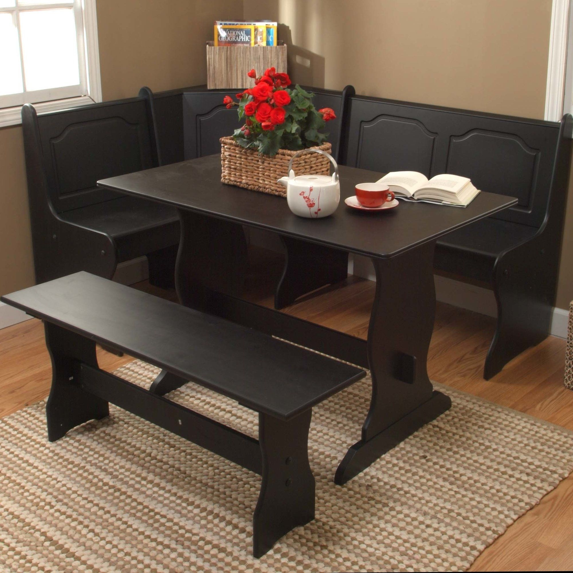 Bench Style Kitchen Table Sets