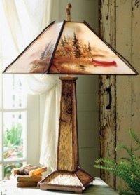 Adirondack Lamp Shades - Foter