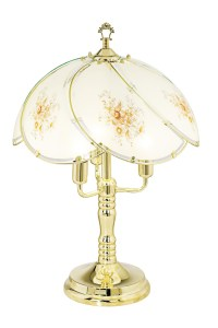 Brass Touch Table Lamp - Foter