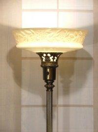 Antiques Torchiere Floor Lamp