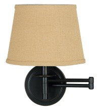 Hardwired Swing Arm Wall Lamp - Foter