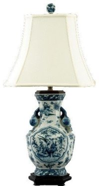 Blue And White Porcelain Table Lamps - Foter