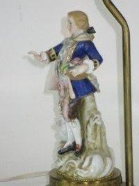 Porcelain Figurine Lamp - Foter